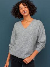 Акция на Пуловер H&M 0693243-9 XL Серый (2000001664797) от Rozetka