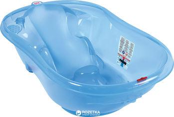 Акция на Детская ванночка OK Baby Onda New Style Синяя (38238440) от Rozetka