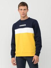 Акция на Свитшот Lacoste SH1538-4SC XL (T6) Navy Blue/Yellow/White (3614038033038) от Rozetka