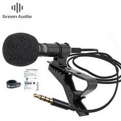Акция на Петличный микрофон Green Audio GAM-142 для телефона от Allo UA