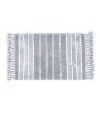 Акция на Набор ковриков в ванную комнату Martil Irya gri серый от Podushka