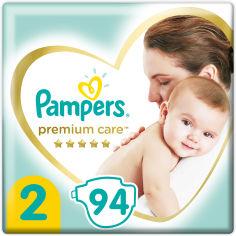 Акция на Подгузники Pampers Premium Care Размер 2 (4-8 кг) 94 шт (8001841104911) от Rozetka
