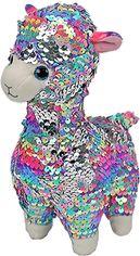 """Акция на Мягкая игрушка TY Flippables Лама """"Lola"""" 15 см (8421363506) от Rozetka"""
