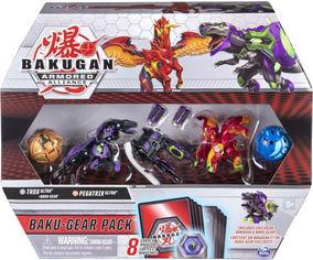 Акция на Игровой набор Spin Master Bakugan Armored Alliance Боевой из четырех бакуганов с оружием Трокс и Пегатрикс (SM64444-2) (778988298336) от Rozetka
