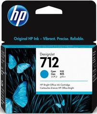 Акция на Картридж HP No.712 DesignJet Т230/Т630 Cyan 29ml (3ED67A) от MOYO