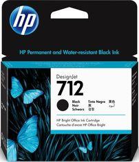 Акция на Картридж HP No.712 DesignJet Т230/Т630 Black 80ml (3ED71A) от MOYO