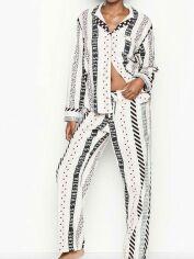 Акция на Пижама Victoria's Secret 95885 M Молочная/Розовая (2500000014819) от Rozetka