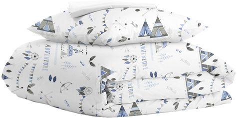 Акция на Комплект постельного белья Cosas WigwamDream White 160х220 (WigwamDream_White_160) (4822052047613) от Rozetka