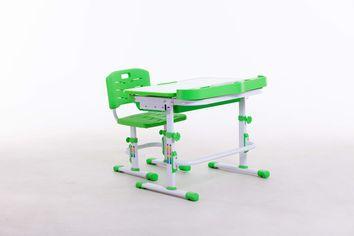 Комплект парта+стульчик Bambi М 8050 Green + Настольная лампа + подставка для книжек от Stylus