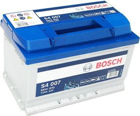 Акция на Автомобильный аккумулятор Bosch 72Аh Ев (-/+) S4007 (680EN) (0092S40070) от Rozetka