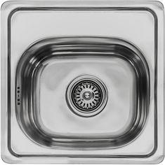 Акция на Кухонная мойка LEMAX 380х380х160 0.6 мм хром (LE-5013 CH) от Rozetka