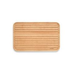 Акция на Доска разделочная деревянная для хлеба Brabantia 40*25*2 см 260728 от Allo UA