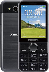 Акция на Philips Xenium E580 Black (UA UCRF) от Stylus