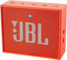 Акция на Портативная акустика JBL GO Orange (JBLGOORG) от Територія твоєї техніки
