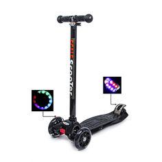Акция на Детский самокат MAXI Black Super scooter от Allo UA
