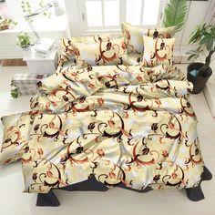 Акция на Комплект постельного белья Zastelli 40-0576 Brown 200x220 см (2500000967443) от Rozetka