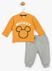 Акция на Костюм (джемпер + брюки) Disney Mickey Mouse MC16210 74-80 см Светло-персиковый (8691109825032) от Rozetka