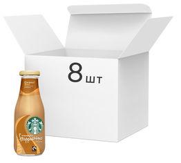 Акция на Упаковка напитка молочного с кофе Starbucks Frappuccino Caramel 8 шт х 250 мл (5711953072055) от Rozetka