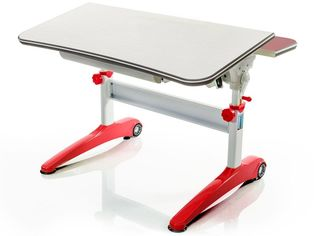 Стол Mealux Ferrari Red (арт.BD-150 F/R) - столешница береза / цвет пластика красный от Stylus