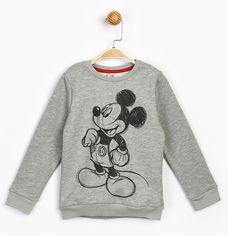 Акция на Свитшот Disney Mickey Mouse MC17214 122 см Серый (8691109860194) от Rozetka