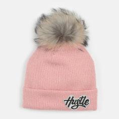 Акция на Зимняя шапка Dembohouse Эстер 21.01.015 Розовая (ROZ6400023856) от Rozetka