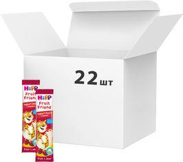 Акция на Упаковка Органический фруктово-злаковый батончик HiPP Йогурт-Вишня-Банан 23 г x 22 шт (9062300439035) от Rozetka