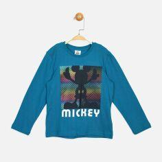 Акция на Футболка с длинными рукавами Disney Mickey Mouse MC16232 116 см Темно-бирюзовая (8691109825131) от Rozetka