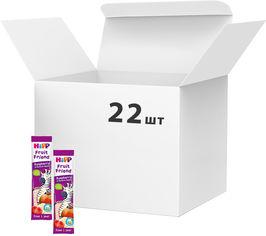 Акция на Упаковка Органический фруктово-злаковый батончик HiPP Малина-Банан-Яблоко 23 г x 22 шт (9062300439028) от Rozetka