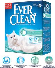 Акция на Наполнитель для кошачьего туалета Ever Clean Aqua Breeze Scented c ароматом морской свежести Минеральный впитывающий 10 л (123456) от Rozetka