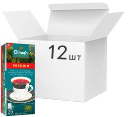 Акция на Упаковка чая Dilmah черного Премиум 12 пачек по 25 пакетиков (49312631142370) от Rozetka
