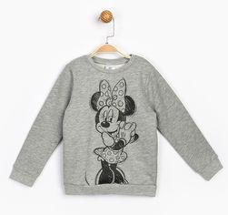 Акция на Свитшот Disney Minnie Mouse MN17218 98 см Серый (8691109860255) от Rozetka