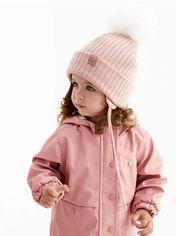 Акция на Зимняя шапка Dembohouse Хулия 21.01.009 Пудра (ROZ6400023824) от Rozetka
