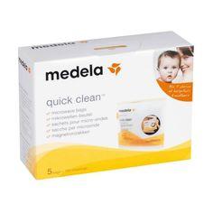 Акция на Пакеты Medela Quick Clean для паровой стерилизации в микроволновой печи, 5 шт. 008.0065 ТМ: Medela от Antoshka
