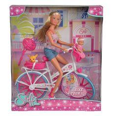 Акция на Набор Steffi & Evi Love Штеффи с малышом на велосипеде 5 739 050 ТМ: Steffi & Evi Love от Antoshka