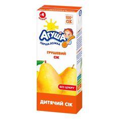 Акция на Сок осветленный груша, 200 мл  ТМ: Агуша от Antoshka