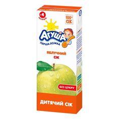 Акция на Сок осветленный яблочный, 200 мл 4007001232 ТМ: Агуша от Antoshka