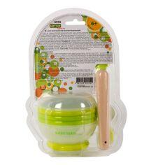 Акция на Набор для кормления Baby Team 5 предметов 38270 ТМ: BABY TEAM от Antoshka
