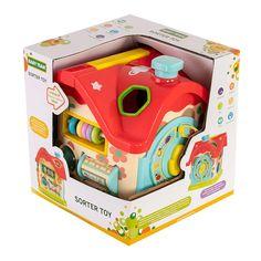 Акция на Сортер Baby Team House 8640 ТМ: BABY TEAM от Antoshka