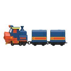 Акция на Игровой набор Robot Trains Паровозик с двумя вагонами Виктор 80179 ТМ: Robot Trains от Antoshka