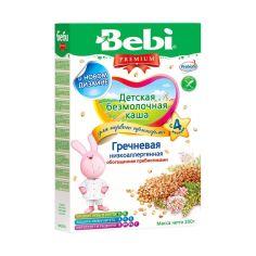 Акция на Детская безмолочная каша Гречневая низкоаллергенная, обогащённая пребиотиками, 200 г 1002625 ТМ: Bebi Premium от Antoshka