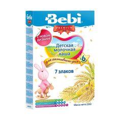 Акция на Детская молочная каша 7 злаков, 200 г 1002705 ТМ: Bebi Premium от Antoshka
