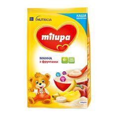 Акция на Каша молочная манная с фруктами, 210 г. 578514 ТМ: Milupa от Antoshka