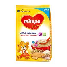 Акция на Каша Milupa молочная мультизлаковая с детским печеньем, 210 г 589860 ТМ: Milupa от Antoshka