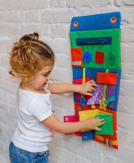 Акция на Развивающая игрушка Vladi Toys Настенный Бизиборд ZZ1000-01 ТМ: Vladi Toys от Antoshka