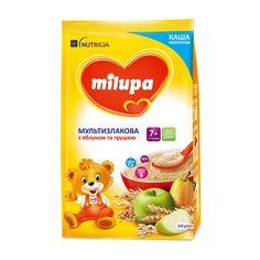 Акция на Каша Milupa Мультизлаковая с яблоком и грушей 210 г 151163 ТМ: Milupa от Antoshka