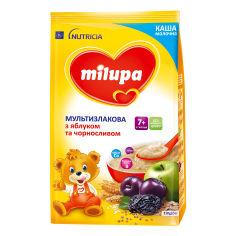 Акция на Каша молочная Milupa Мультизлаковая с яблоком и черносливом 210 г 157025 ТМ: Milupa от Antoshka