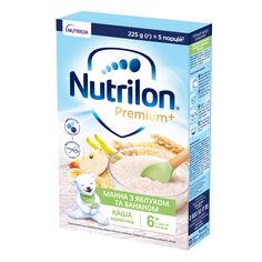 Акция на Каша молочная Nutrilon Манная с яблоком и бананом 225 г 157049 ТМ: Nutrilon от Antoshka