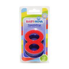 Акция на Зубное кольцо твердое рельефное 31188 ТМ: BABY-NOVA от Antoshka