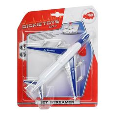 Акция на Самолет «Jet Streamer», 25см 3343004 ТМ: Dickie Toys от Antoshka