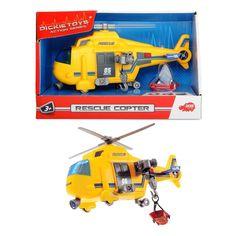 Акция на Спасательный вертолет со звуковыми и световыми эффектами, 18см 3302003 ТМ: Dickie Toys от Antoshka